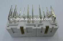 16 ways PCB female automotive composite plastic connector