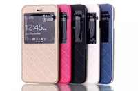 Smart Tech Magnet Pure View Flip Leather Case Cover Shield for iPhone 6