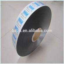 High qualityplastic BOPP/VMPET/PE film shampoo packaging material