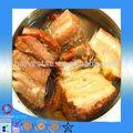 Atacado enlatados de carne de porco fábrica preço/cozido de carne de porco em lata