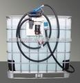 kullanılan 1000l ibc tankı 500 litre sıvı pompa aktarılması