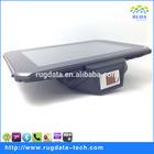 Industrial android 4.3 rugged tablet support fingerprint RFID reader 1D/2D barcode scanner tablet (RD5100)