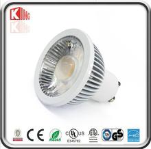 Gu10 Led Spotlight, 3 Pack, 5watts, 500lm, Replace 50w Spotlight , Warm White, Milky Cover, Ac 85-265