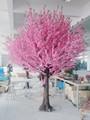 2015 maior artificial de flor de cerejeira da árvore