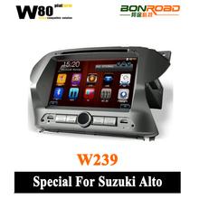 coche tv multimedia de navegación del coche para suzuki alto sistema reproductor digital