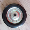 6x1.5 inches rubber solid small wheel