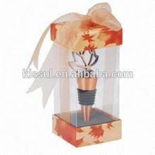 Maple Leaf bottle stopper wedding reception gift