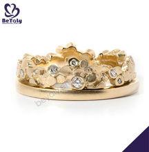 gioielli in argento 3 carati anello di diamanti
