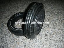 wheel barrows solid rubber wheels 8inch 200/50-100