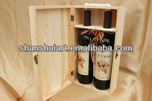 Luxury high quality end wine glass display box