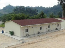 Malaysia modular prefabricated commercial buildings