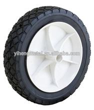 7''x1.5'' semi-pneumatic tire with plastic rim