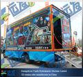 ديناميكية المسرح جذابة 5d الكهربائية والهيدروليكية شاحنة/ أزياء السينما 5d على سيارة شاحنة متنقلة