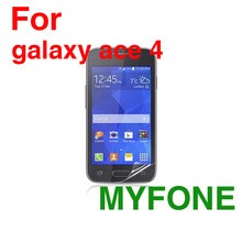 for Samsung galaxy ace 4 mobile phone use screen protector