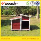 Elegant Design Wooden Fancy Dog Kennel with storage box