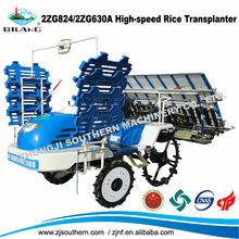 8 sıra 4 tekerlek sürme traktör yüksek hızlı pirinç transplanter 6 satır pirinç transplanter, de kullanılan Hint Tailand maymar df