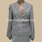 Lady's Spring Blazer Jacket Formal Jacket And Vest 2 Piece Set Blazer/OEM service/China clothing factories