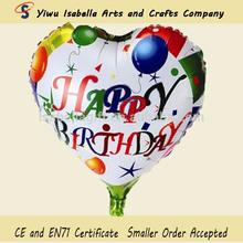 China happy birthday wholesale balloons