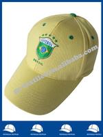 brazil embroidered sandwich baseball cap