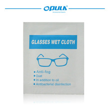 Disinfectant 2014 disposable &most convenient eyeglass cleaning cloth with lower price