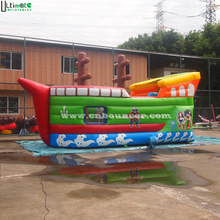 Factory price pirate ship inflatable combo game
