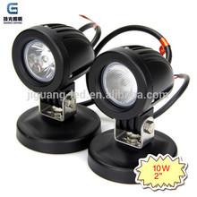 10W Mini Auto head lamp LED 12V Cree work light for Motorcycle JG-6102
