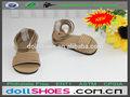 18 pulgadas muñeca muñeca sandalias zapatillas gril americana muñeca sandalias