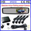 Kits De Camara De Marcha Atras Espelho Retrovisor Monitor Y Sensor De Estacionamento Parqueo