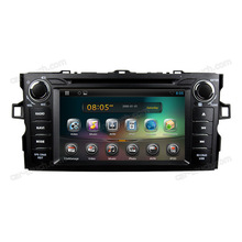 7 inch touch screen android 4.2 car dvd gps for Toyota Corolla 2012 with bluetooth+built-in gps