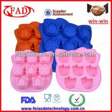 100% Food-grade Hello Kitty animal shaped pudding mold