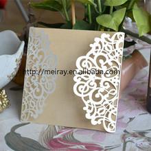 Chinese imports wholesale wedding decorations, laser cut wedding decorations invitation cards for Wedding