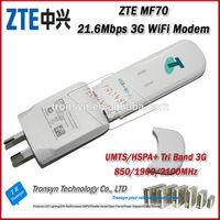 Cheapest New Original Unlock HSPA+ 21.6Mbps ZTE MF70 USB Modem Drivers Support 10 WiFi USER