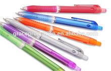 Novel design promotional plastic ball point pen, advertising pen