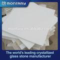 Pure white de mármore telha de assoalho