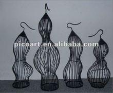 Metal decorative bird cage for home decor