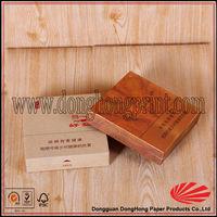 Custom cardboard flip top newport cigarette box