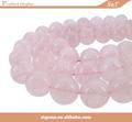 venta al por mayor 2014 8mm piedras preciosas pulsera de cuarzo rosa