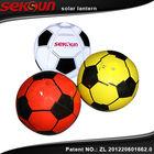 seksun original patent owned power grave inflatable solar football light/LED solar lantern
