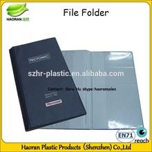 3 Fold fancy file folder mechanism