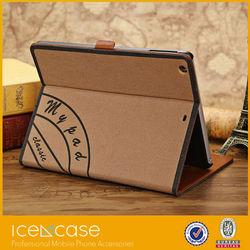 Retro Vintage Folio Leather Case for iPad Mini Wallet Style PU Leather cover for iPad Mini