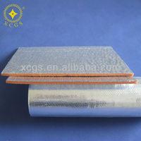 aluminium foil pe foam aluminum backed foam sheets