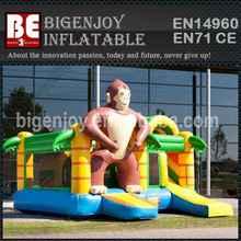 Inflatable Bouncy Castle Multiplay Monkey