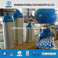 Dot tped werkstoff aluminium 1l-50l freon gasflasche industrie gas aluminiumzylinder