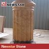 ledge stone column