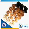 wholesale aaaaa 100% virgin brazilian 3 tone ombre outre free weave hair packs