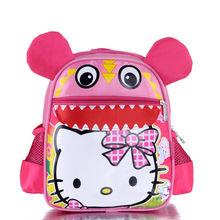 sevimli pembe hello kitty toptan okul çantaları