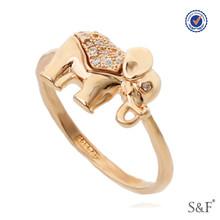 0967640 female statement ring Platinum Plated statement ring