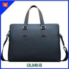 European style leisure business genuine leather shoulder bag men