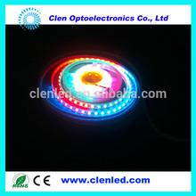 DC5V DC12V LED Ribbon Light 5050 WS2801, WS 2811 RGB LED Light Pixel Strips installation