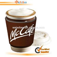 Neoprene coffee sleeves